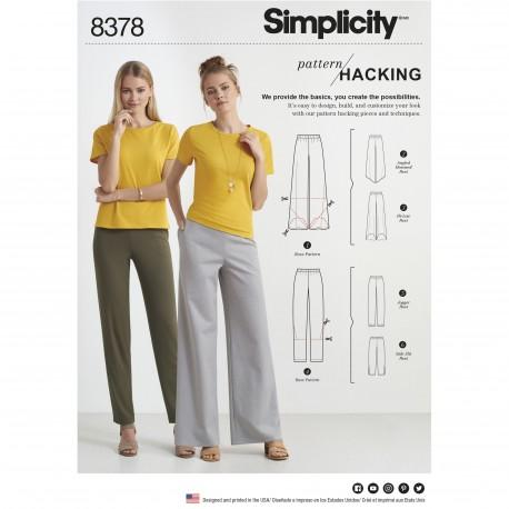 Bukser simplicity snitmønster 8378