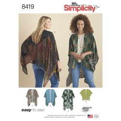 Løs kimono simplicity snitmønster