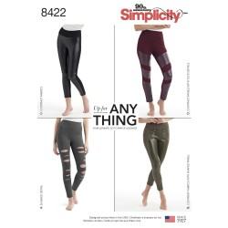 Leggings simplicity snitmønster