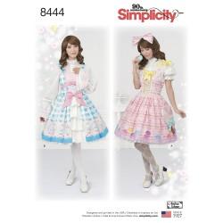 Voksen kostume Lolita look simplicity snitmønster