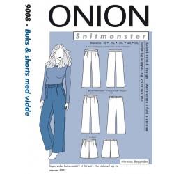 Buks & shorts m/vidde Onion snitmønster 9008
