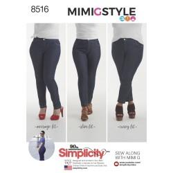 Lange bukser MimiGstyle snitmønster simplicity 8516