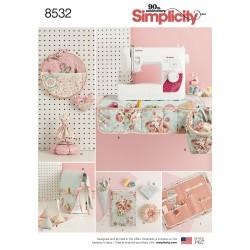 Tilbehør til systuen snitmønster Simplicity 8532