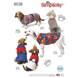 Hundedækken snitmønster Simplicity 8538