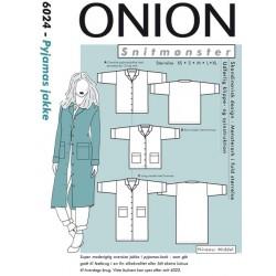 Pyjamas jakke Onion snitmønster