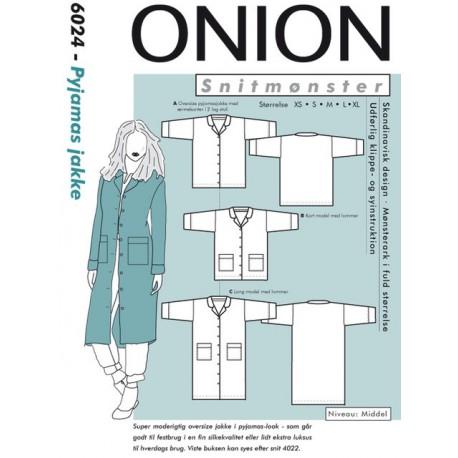 Pyjamas jakke Onion 6024 snitmønster