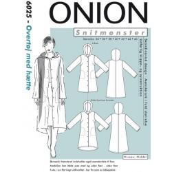 Overtøj m/hætte Onion snitmønster