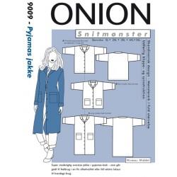 Pyjamas jakke plusmode Onion 9009 snitmønster