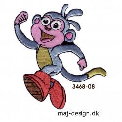 Dora the explorer broderet strygemærke 7 x 7 cm