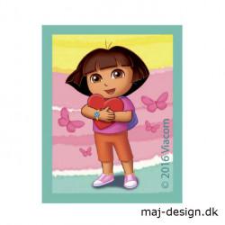Dora the explorer strygemærke 5 x 6,5 cm