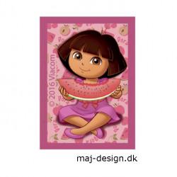 Dora the explorer strygemærke 4,5 x 6,5 cm
