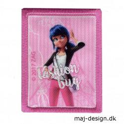 Fashion Bug Lady Bug Broderet strygemærke 3476-08