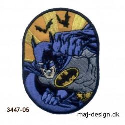 Batman strygemærke 5,5 x 7,3 cm 3447-05