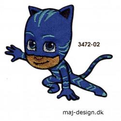 Pj Masks Catboy broderet strygemærke 3472-02