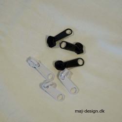 8mm glider til spirallynlås i metermål