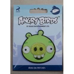 Angry Birds Pig 6x6cm Strygemærke