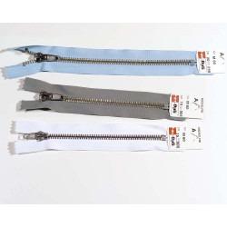 Opti lynlås 6 mm bukselynlås 15 og 20cm