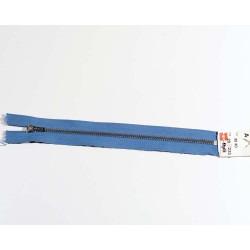 Opti bukselynlås 4mm blå/sølv