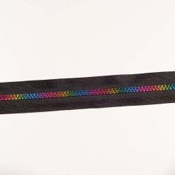 6mm delrin lynlås i regnbuens farver