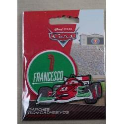 Cars Francesco 7x6 cm Broderet strygemærke