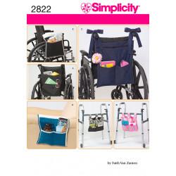 Opbevaring til kørestol og rollator snitmønster