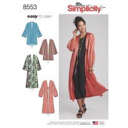 Kimono snitmønster