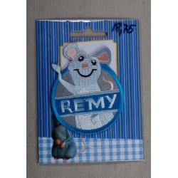 REMY 7,5x6cm Strygemærke Disney