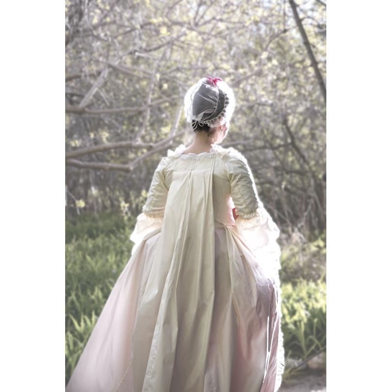 45c04027 ... 1800´tals kjole voksen kostume snitmønster 8578 ...
