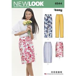 Nederdel og bukser New look snitmønster easy