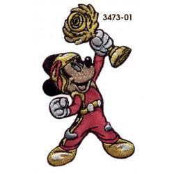 Mickey and the Roadster Racers Broderet strygemærke