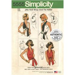 1970érne Vintage Halterneck top simplicity snitmønster