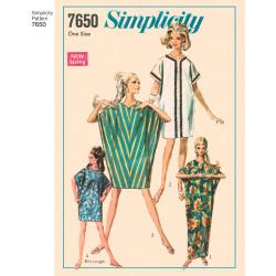 1960érne Vintage Kaftan kjole snitmønster