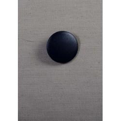 Stor blå knap m/øje, 30mm