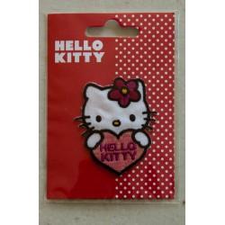Hello kitty med hjerte 6x4,5cm