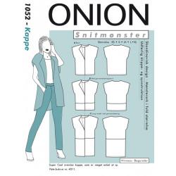 Kappe Onion snitmønster