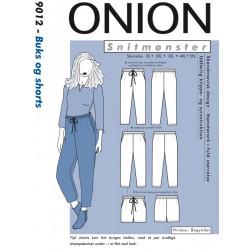 Bukser og Shorts Onion snitmønster plusmode 9012
