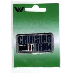 Cruising Team Broderet strygemærke 6x3 cm