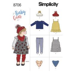 Babytøj pige snitmønster