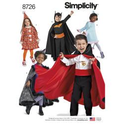 Børne kostume Drenge/piger snitmønster