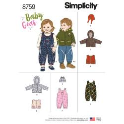 Baby tøj dreng/pige snitmønster