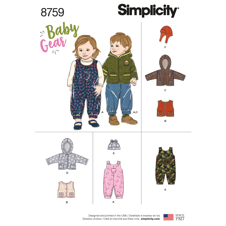 a8d078b24b4d Babytøj dreng pige snitmønster