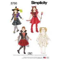 Kostume pige snitmønster