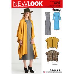 Kjole og slag New look snitmønster