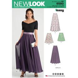 Lang nederdel New look snitmønster