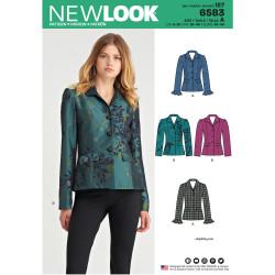 Kort jakke New look snitmønster
