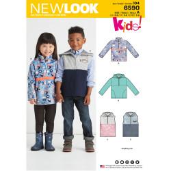 Fleece trøje/vest børnetøj New look snitmønster