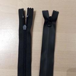 Cose Vandtætte lynlås i sort ikke delbar 4mm spirallynlås