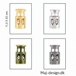 Snorstopper dobbelt nikkelfri 3 mm