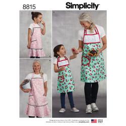 Forklæde mor og barn snitmønster Simplicity 8815
