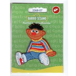Ernie Sesame Street Broderet strygemærke 7x7 cm